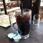 カフェドムッシュ - アイスコーヒー♪