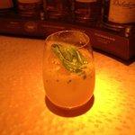 バー ブラン - 金柑とバジルと生姜のモスコミュール