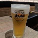 水炊き・焼き鳥 とりいちず - 生ビール