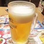 バーミヤン  - 生ビール