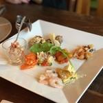 チェルト ホノボーノ - 前菜の9種盛り
