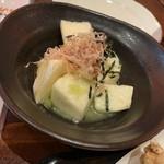 もつ焼のんき - 山芋わさび