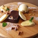 Modern Mexican MAYAluz - チョコレートテリーヌ ラム香るバナナと