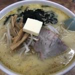 111400993 - 味噌カレー牛乳ラーメン(バター入り)(830円)