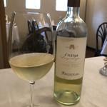 リストランテオガワ - グラスワイン  白