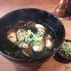 玉川庵 - 料理写真:牡蠣そば 1400円