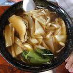 佐藤ラーメン店 - ワンタン麺