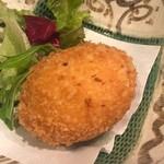 一里 - 蟹クリームコロッケ