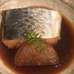 一里 - サゴシ(サワラ)の煮付け
