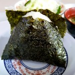 札幌市役所本庁舎食堂 - おにぎり鮭 120円