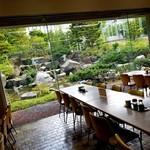 札幌市役所本庁舎食堂 - 中庭