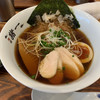 麺屋 猪一 離れ - 料理写真:昆布〆鶏ちゃーしゅーの追い鯖そば(黒醤油)♡¥950(税込)