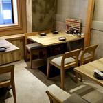 個室 霜降り肉寿司食べ放題 タテガミ - テーブル席