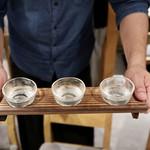 個室 霜降り肉寿司食べ放題 タテガミ - 利き酒セット