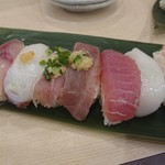 寿司 魚がし日本一 - 先の七貫