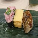 寿司 魚がし日本一 - のこり2貫と玉