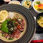 Abond - 和牛イクラ丼定食