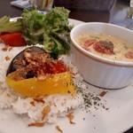 プラスワンカフェガーデン - タイ風カレー