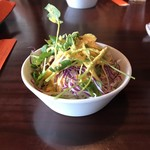 111425688 - ハンバーグステーキ&カニクリームコロッケ                        (+ハンバーグ Big Size)サラダ