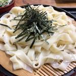 名古屋城きしめん亭 - ざるきしめん 700円。