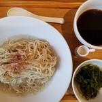UMAMI SOUP Noodles 虹ソラ - 冷たいザル 大盛280g 650円