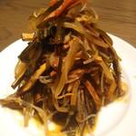 Dhintaifon - 干豆腐の和え物。安いけど美味しい