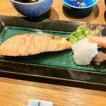 まめや - 時鮭塩焼定食
