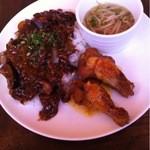 アジアン食堂 ジョージのレシピ - 日替わりランチ(メイン)