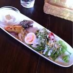 アジアン食堂 ジョージのレシピ - 日替わりランチ(前菜)