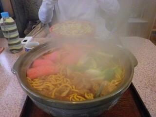 吉野屋 - 再度注文した味噌煮込みうどん大盛\1350
