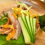 榮鮨 - 料理写真:金目鯛のお造り