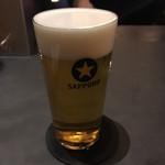 サッポロ生ビール黒ラベル THE BAR - ハイブリッドとパーフェクトを飲んだよ。生活圏内にあったらいいのにな〜