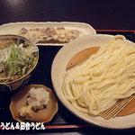 手打ちうどん  いしづか - 2012年1月 イベリコ豚つけ麺