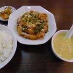 好記園 - 油淋鶏のランチ