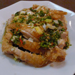 好記園 - ランチの油淋鶏