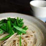食菜 かま田 - にらのせざる 700円