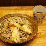 食菜 かま田 - 天ざる 800円