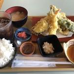 海鮮丼・天ぷら 博多喜水丸 - 料理写真:天ぷら定食