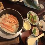 松江の台所 こ根っこや - カニ釜飯