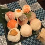 松江の台所 こ根っこや - 手毬寿司アップ