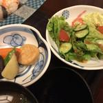 松江の台所 こ根っこや - サラダと煮物