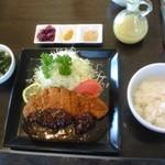 スライヴイーヴス - 料理写真:味噌かつれつ