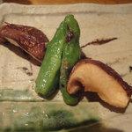 焼鳥 はちまん - 野菜焼