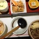 和食鍋処 すし半 - 季節のなごみ弁当 840円