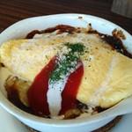 SYNC - とろ〜りチーズの焼きオムライス(?)