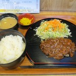 グルメ倶楽部 - 料理写真:洋風ハンバーグ