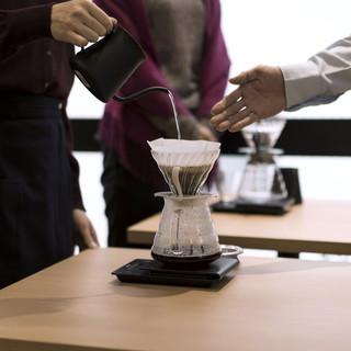 ご自宅でも美味しいコーヒーを淹れたい方は、セミナーがおすすめ