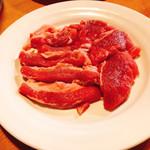 札幌ジンギスカン 綿羊 - 上肉1人前