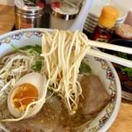 広島中華そば がんぼ - しっかり麺