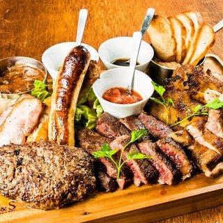 肉料理を存分にご堪能頂ける宴会コースをご用意!